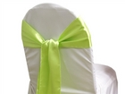Apple Green Satin Sash