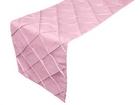 Pink Pintuck Runner