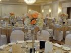 Candelabra with flowers- Candelabra Wedding Rental