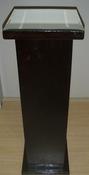 Chocolate Pedestals for rental