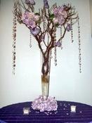 Manzanita Branches, decorated.