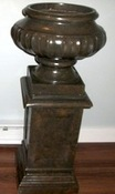 Brown Pedestals