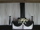 Backdrop for weddings or events