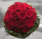 Vision in Red - Wedding bouquet