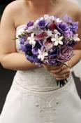 Purple festival Bridal Bouquet