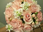 Roses & Stock Bridal Bouquet