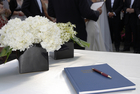 Glorious - Guestbook Table