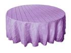 Lavender Pintuck Overlay