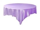 Lavender Satin Overlay