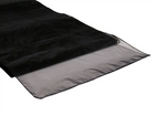 Black Organza Runner