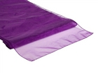 Purple Organza Runner