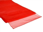 Red Organza Runner
