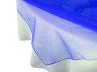 Royal Blue Organza Overlay