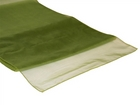 Willow Green Organza Runner