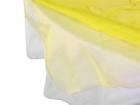 Yellow Organza Overlay