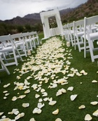 Petals for Aisle (rental)