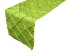 Sage Green Pintuck Runner