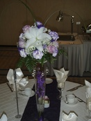 Shelby´s - Wedding Centrepiece