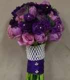 Royal Purple - Bridal Bouquet