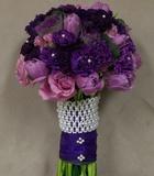 Royal Purple - Bridal Bouquet