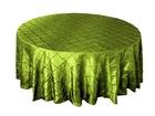 Sage Green Pintuck Overlay
