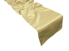 Champagne Satin Runner