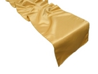 Gold Satin Runner
