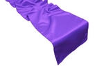 Purple Satin Runner