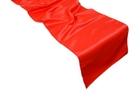 Red Satin Runner