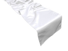White Satin Runner