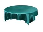 Turquoise Satin Overlay